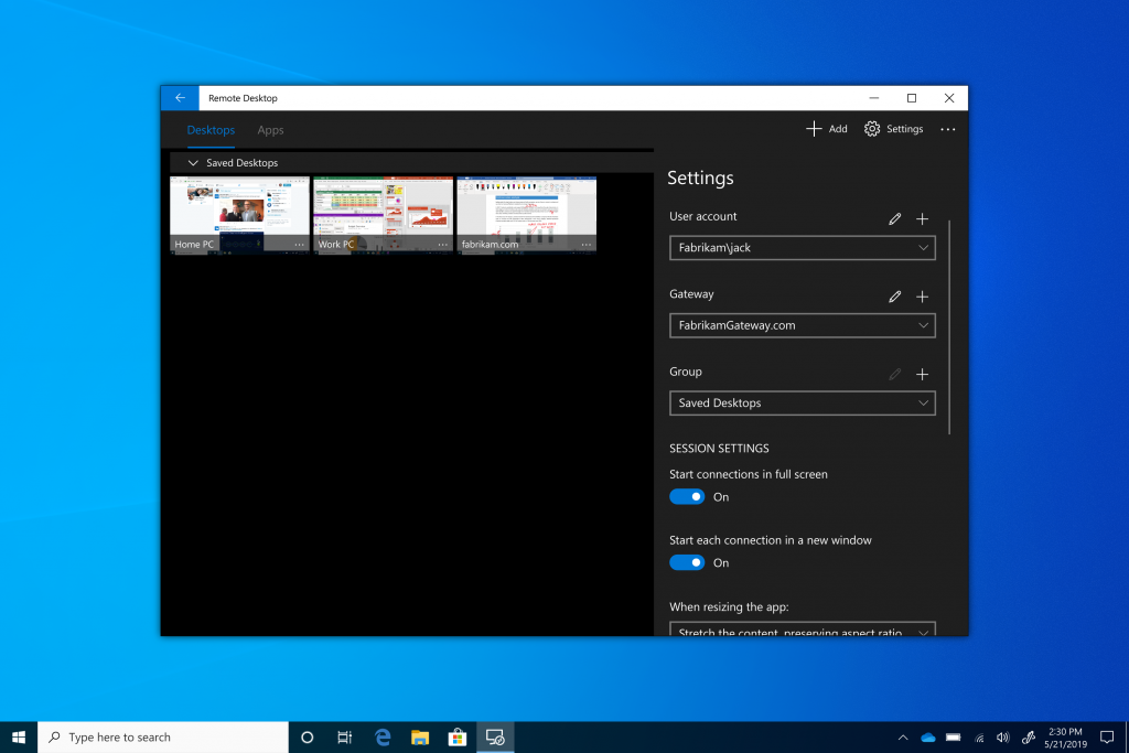 Escritorios virtuales en Windows 10