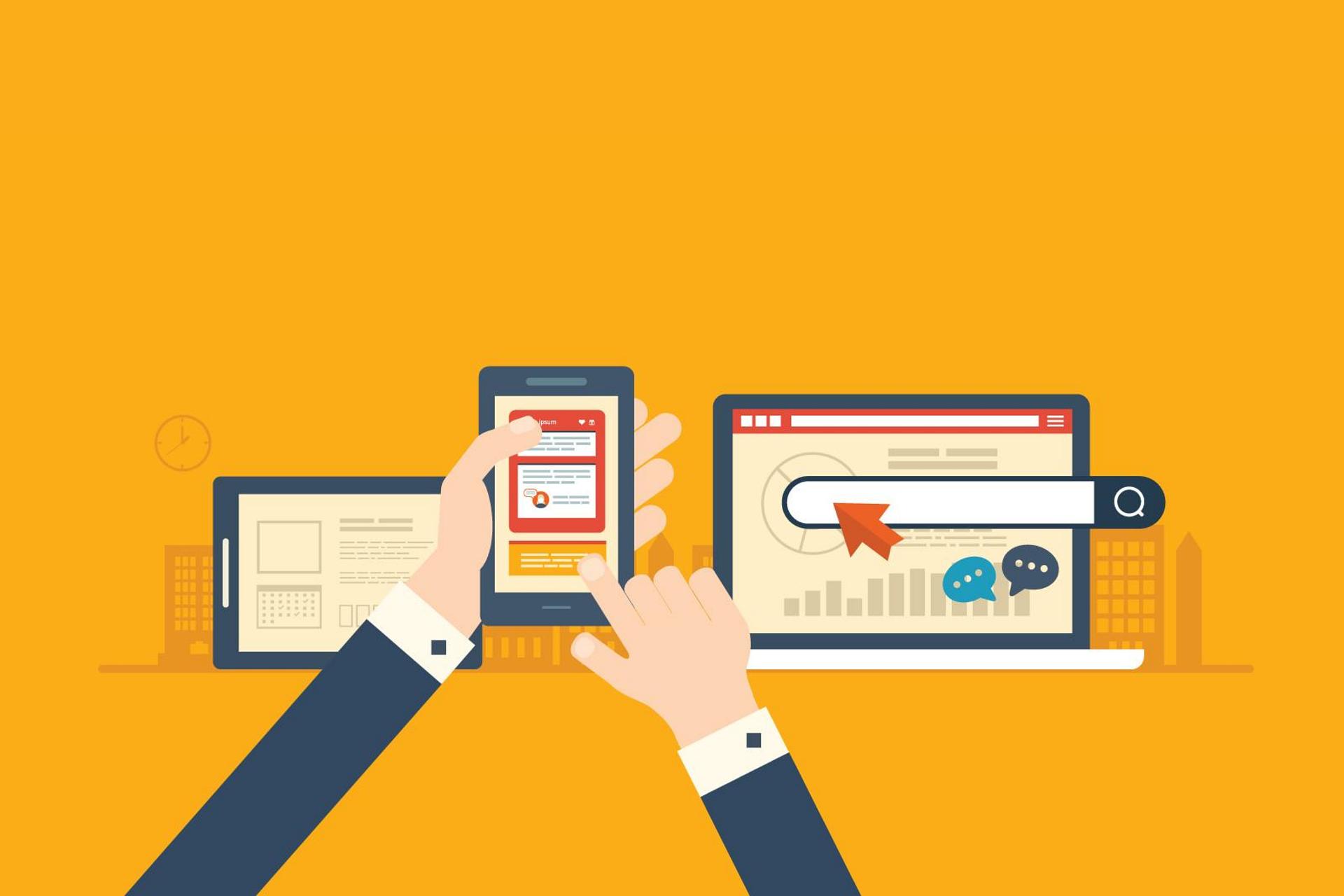 Tener una web sencilla y responsiva es esencial para mantener una buena usabilidad