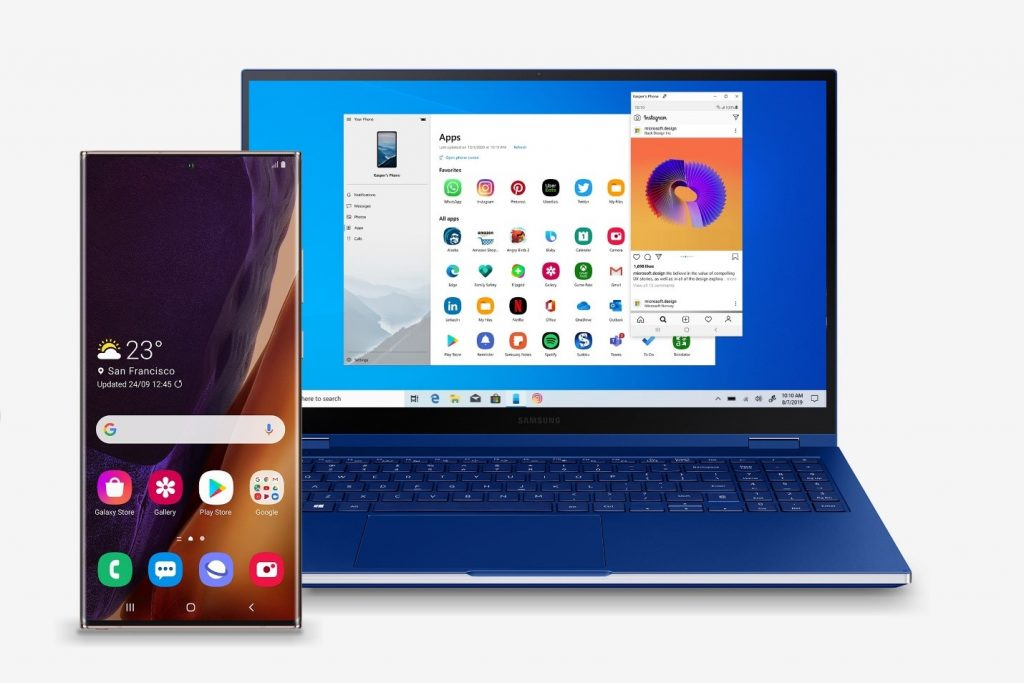 Apps de Android funcionando en Windows 10 con Tu Teléfono