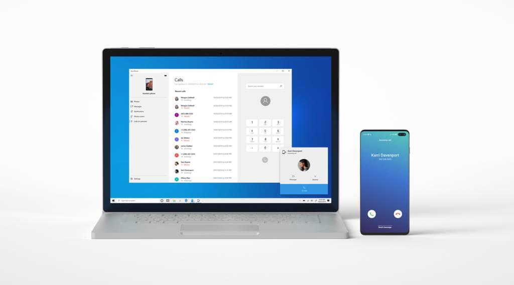 Contestar llamadas en Windows 10